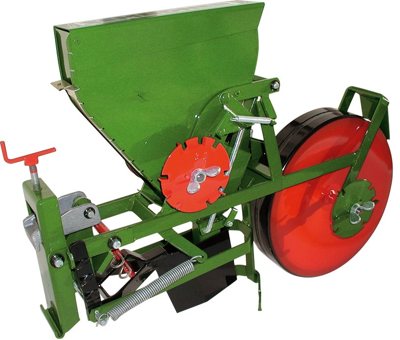 SEMBDNER towed seed drill GSD for all gardening, farming and forestry seeds